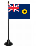 Western Australia Desk / Table Flag with plastic stand and base.
